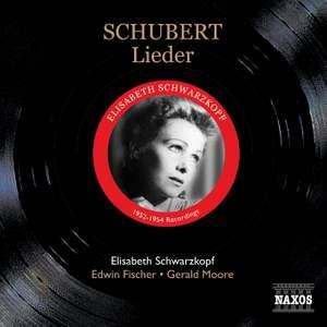 Schwarzkopf sings Schubert Lieder Product Image