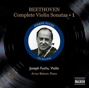 Beethoven - Complete Violin Sonatas Volume 1 Product Image