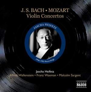 Jascha Heifetz plays Bach & Mozart Violin Concertos