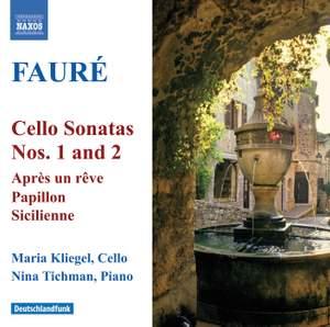 Fauré - Cello Sonatas Nos. 1 & 2