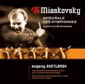Svetlanov Edition Volume 35