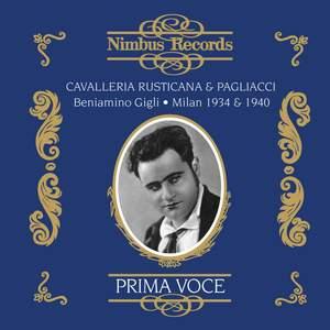 Cavalleria Rusticana / Pagliacci Product Image