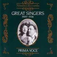 Great Singers Vol.1 - (1909 - 1938)