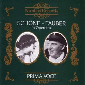 Lotte Schone and Richard Tauber in Operetta