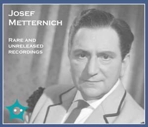 Recital - Josef Metternich