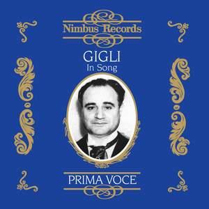 Beniamino Gigli in Song