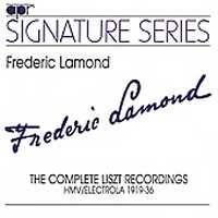 Frederic Lamond: The Complete Liszt Recordings