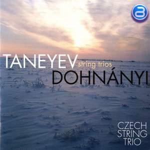 Taneyev and Dohnanyi String Trios