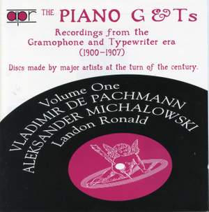 The Piano G & Ts - Volume 1