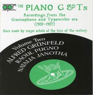 The Piano G & Ts Volume 2 - Recordings from the Gramophone & Typewriter era (1900-1907)