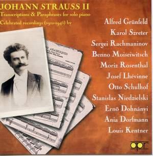 Johann Strauss Jr: Transcriptions & Paraphrases for Solo Piano