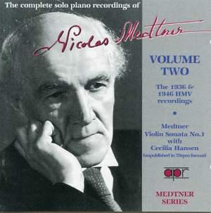 Medtner Series Volume 2