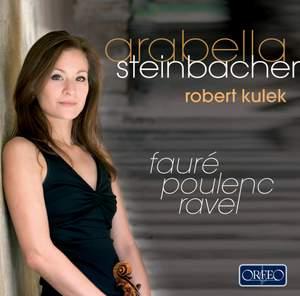 Poulenc, Faure & Ravel - Violin Sonatas