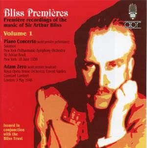 Bliss Premières (Volume 1)