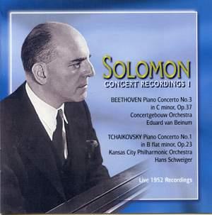 Solomon - Concert Recordings (Volume 1)