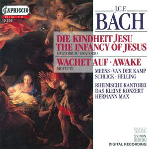 Bach, J C F: Die Kindheit Jesu, etc.