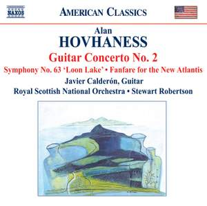 Hovhaness - Guitar Concerto No. 2 Product Image