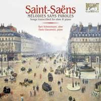 Saint-Saëns: Mélodies Sans Paroles, etc.