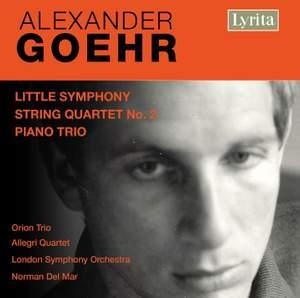Goehr - String Quartet No. 2