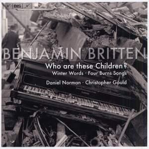Britten - Who are these Children?
