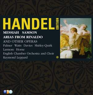 Handel Edition Volume 4 - Messiah and Samson