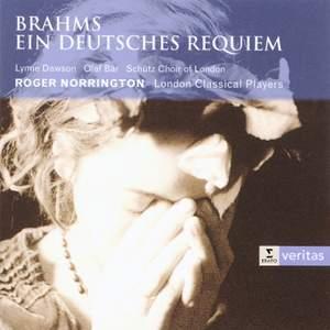 Brahms: Begräbnisgesang, Op. 13, etc.