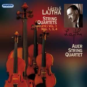 László Lajtha: String Quartets Vol. 1 Product Image