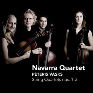 Peteris Vasks: String Quartets Nos. 1-3 Product Image