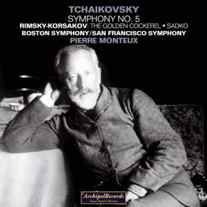 Pierre Monteux conducts Tchaikovsky & Rimsky-Korsakov