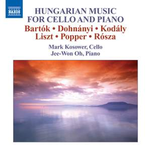 Hungarian Music for Cello and Piano Product Image