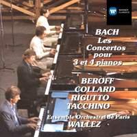 Bach: Concertos for 3 & 4 pianos