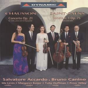 Chausson: Concert in D major & Saint-Saëns: Violin Sonata No. 1