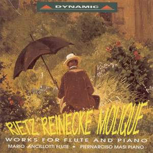Rietz - Reinecke - Molique: Works For Flute And Piano