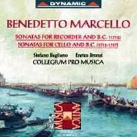 Benedetto Marcello: Sonatas for Recorder, Cello & Basso Continuo