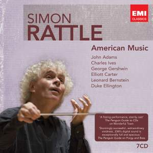Simon Rattle conducts American Music