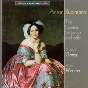 Rubinstein: The Sonatas For Piano And Cello