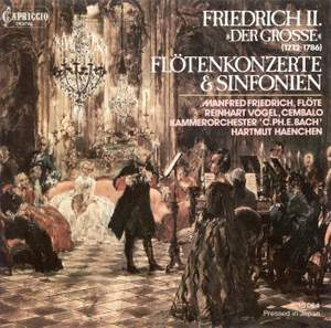 Frederick the Great: Flute Concertos & Symphonies