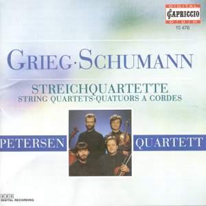 Grieg/Schumann: Steichquartette Op. 27/Op. 41