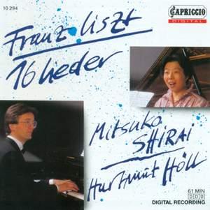 Liszt: 16 Lieder