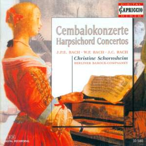 C.P.E., W.F. & J.C. Bach: Harpsichord Concertos