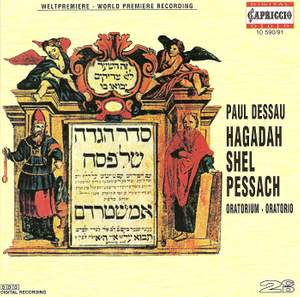 Dessau: Hagadah Shel Pessach (Oratorio)