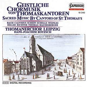 Sacred Music by Cantors of St Thomas's