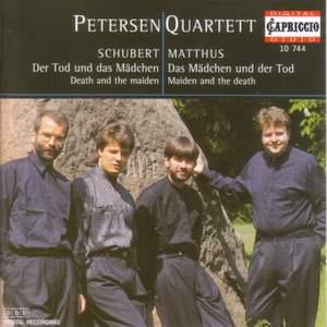 Schubert: String Quartet No. 14 & Matthus: Das Madchen und der Tod