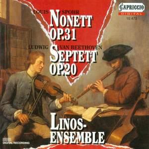 Spohr: Nonet & Beethoven: Septet