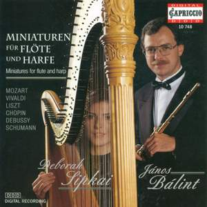 Miniatures for Flute and Harp