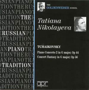 Tatiana Nikolayeva - The Goldenweiser School