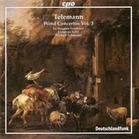 Telemann: Wind Concertos Volume 3