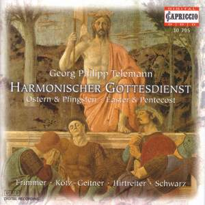 Telemann: Cantatas for Easter and Pentecost Product Image