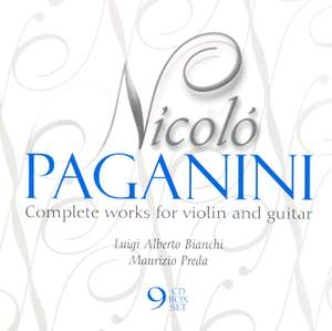 Paganini: Complete Works For Violin And Guitar