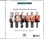Mozart- Busoni: Complete Transcriptions For Piano Solo